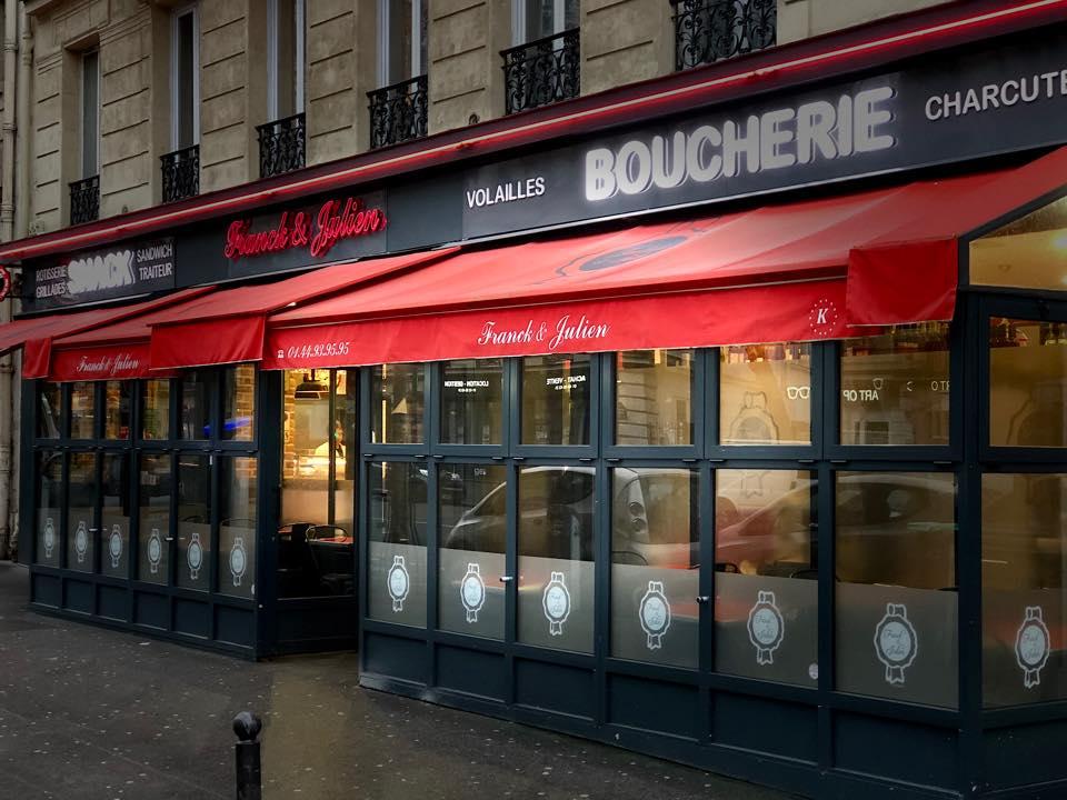 Franck & Julien Boucherie Cacher