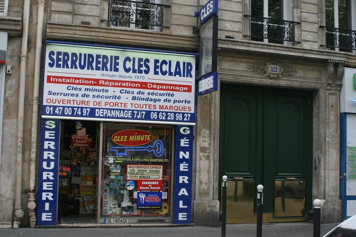 Serrurier Clé Éclair Paris