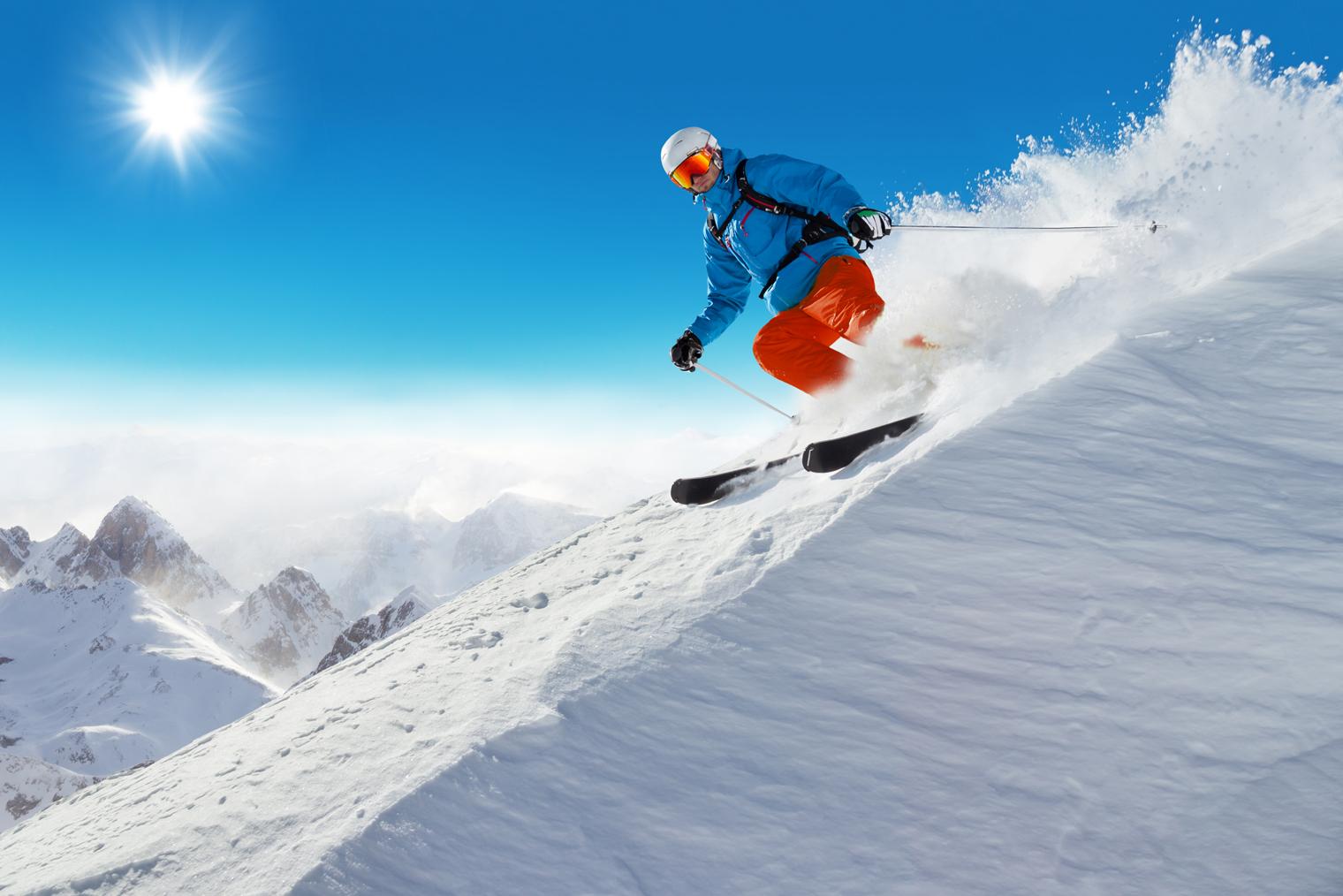Lev's ski voyage cacher février