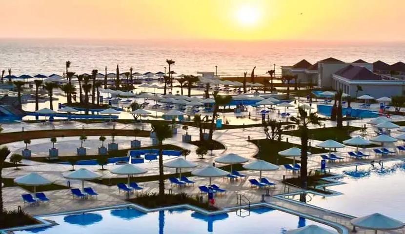 White And Blue Agadir